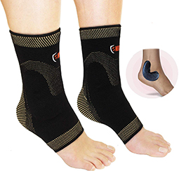 copper ankle support brace